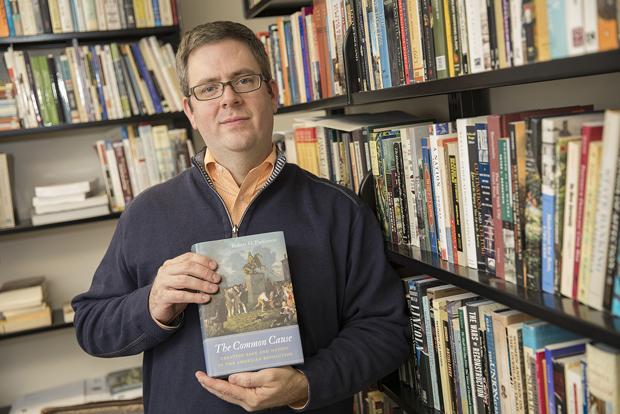 Robert Parkinson's new book is called