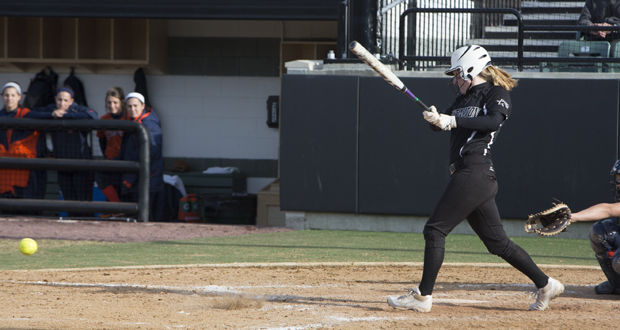 Senior outfielder Jessica Phillips was the only Bearcat player to hit safely in all three games of the America East Tournament.