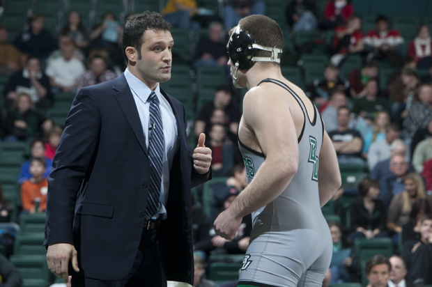 Pat Popolizio takes over the North Carolina State wrestling program after compiling a 81-53 record over six years at Binghamton.