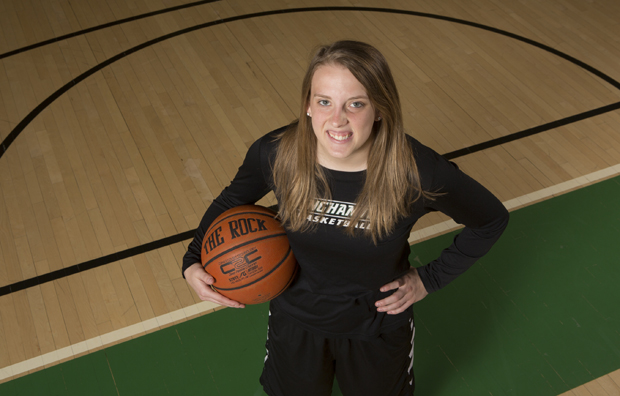Kim Albrecht was named to the America East All Conference third team and the America East All Academic Team following her final season for the Bearcats. Albrecht will return to her home state of Wisconsin to pursue a master's degree in architecture and urban planning at the University of Wisconsin-Milwaukee.
