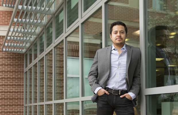José Eduardo Huerta graduated from the University of California-Berkeley and worked as an international group leader for an educational nonprofit before coming to Binghamton University.