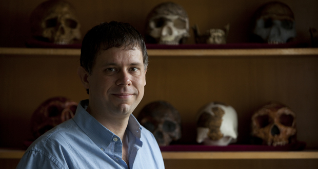 Binghamton University anthropologist Rolf Quam was part of an international research team that found eight teeth in a prehistoric cave in Israel.