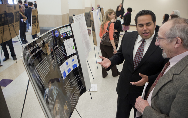 Undergraduate and graduate students will present their research at poster presentations at 11 a.m. and 2 p.m. Friday, April 19, in the Mandela Room. The sessions are part of Binghamton Research Days.