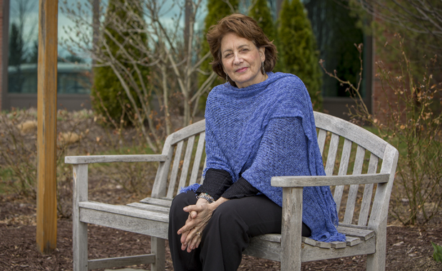 English professor Liz Rosenberg's latest book, <em>The Laws of Gravity</em>, will be published in May. Her first adult novel, <em>Home Repair</em>, was released in 2009.