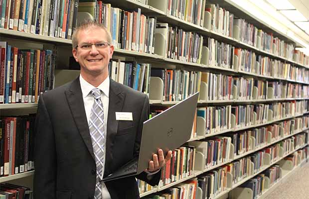 David Schuster is the new director of Library Technology and Special Collections at the Libraries.