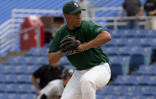 Relief ace Lee Sosa, who led the Bearcats and the America East conference with 10 saves in 2012, was drafted by the Oakland Athletics on June 6.
