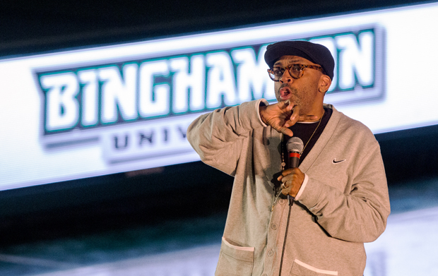 Spike Lee discusses love of filmmaking