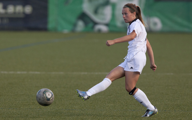 Taylor Kucharski's early goal was the difference in Binghamton's 1-0 victory over New Hampshire on Oct. 27 in the America East tournament.