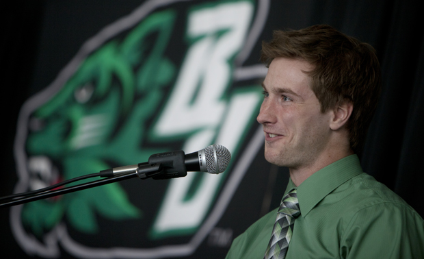 Erik van Ingen won the 1,500 at the Virginia Classic on May 11 and will be the second Binghamton athlete ever to take part in the U.S. Olympic Track & Field Trials.