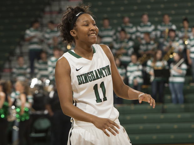 Imani Watkins had 20 points to lead the Bearcats past Nyack on Dec. 15.