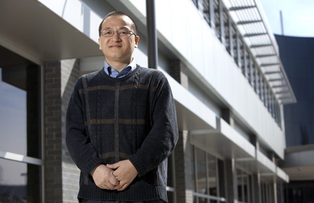 Guangwen Zhou, a mechanical engineering assistant professor who joined the Binghamton University in 2007, is the latest faculty member to receive a grant from the National Science Foundation's Faculty Early Career Development (CAREER) Program.