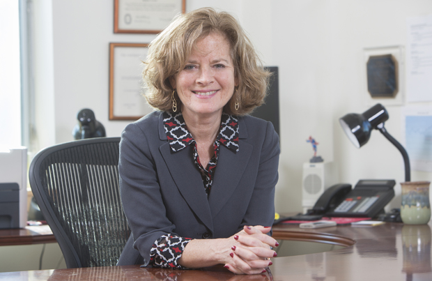 Laura Bronstein officially became dean of the College of Community and Public Affairs on Jan. 2.