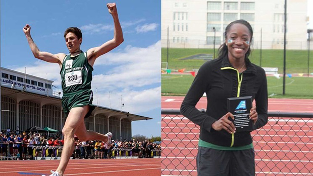 Jesse Garn and Keishorea Armstrong will compete in the NCAA Outdoor Track & Field Championships on June 10-13 at the University of Oregon.