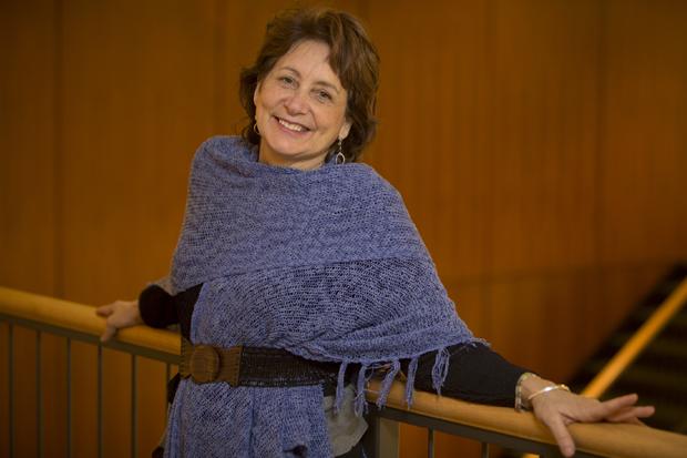 English Professor Liz Rosenberg's latest novel is