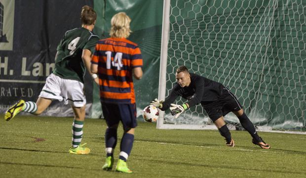 Men's soccer falls to No. 18 Syracuse