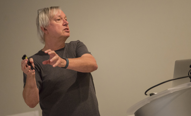 Lee Sheldon, associate professor in the Games and Simulation Arts and Sciences program at Rensselaer Polytechnic Institute, has developed The Multiplayer Classroom model.