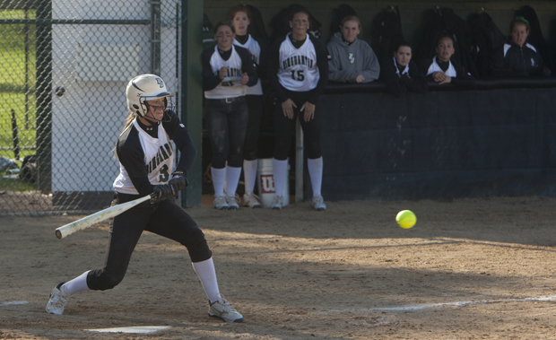 Second baseman Jessica Bump hit a grand slam and drove in five runs in the Bearcats' 13-5 victory over Hartford on April 1.