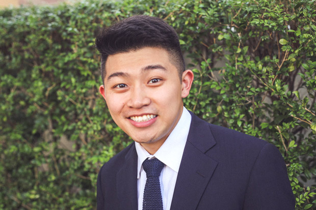 School of Management student Taniel Chan will work at Goldman Sachs for two years, then attend Harvard Business School.