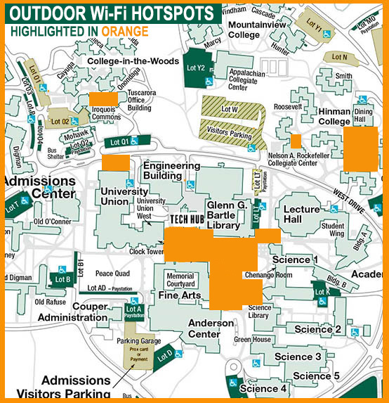 Outdoor WiFi Hotspots