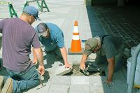Plaza Deck masonry repairs
