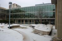 Science plaza deck
