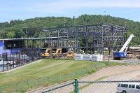 Baseball stadium construction