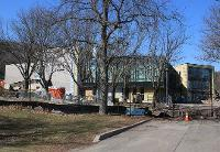 Hinman Dining Hall renovation