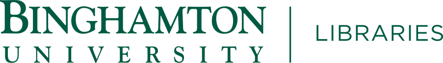 Repository: Binghamton University Libraries Special Collections