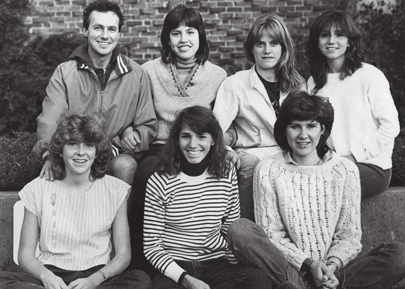 1983 women's cross country team