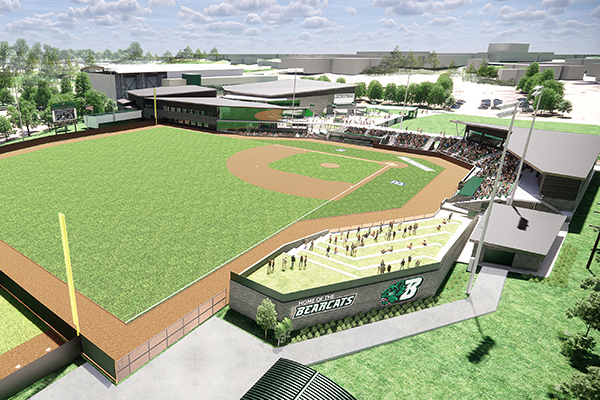 An anonymous gift of $60 million to Binghamton University will fully fund a new, state-of-the-art Baseball Stadium Complex.