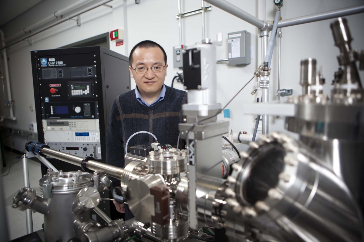 Guangwen Zhou is a professor of mechanical engineering at the Watson School of Engineering and Applied Sciences.
