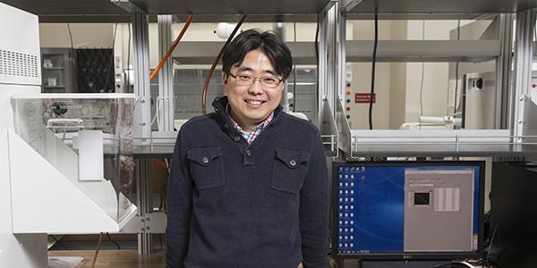 Seokheun Choi, associate professor of electrical and computer engineering.