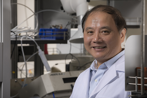 C.J. Zhong has been elected to the National Academy of Inventors and will be inducted at a ceremony in April in Phoenix, Ariz.