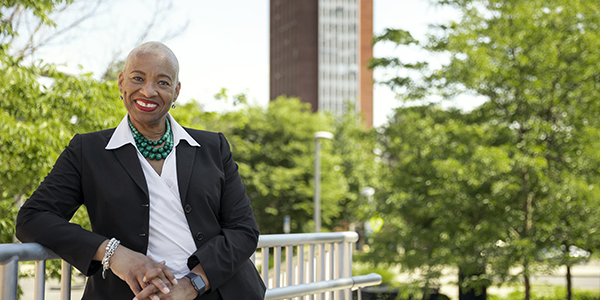Karen A. Jones began her duties as Binghamton University's first vice president for diversity, equity and inclusion at the end of June.