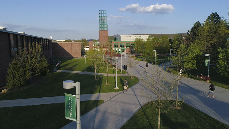 Seventeen Binghamton University students have received Fulbright grants over the past three years. The 2019-20 recipients will conduct research and teaching in Spain, Colombia, Belarus and Bahrain.