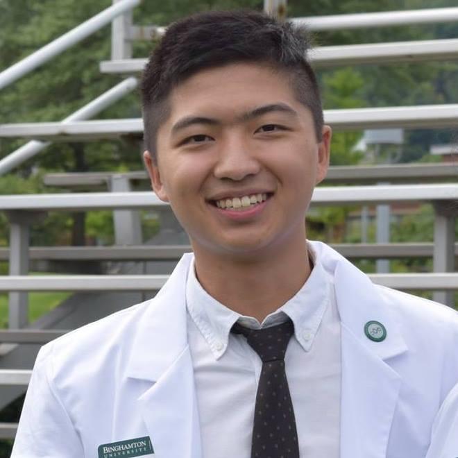 Pharmacy student Brian Kam