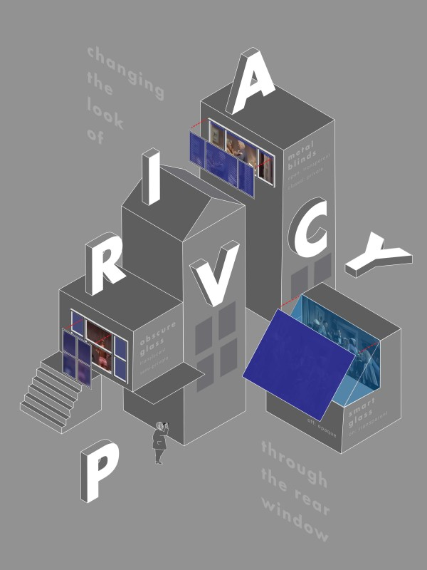 Cindy Knickerbocker's submission to the IIID Award competition looked at the privacy implications of glass.