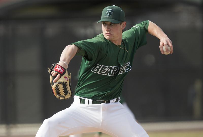 Nick Wegmann's baseball accolades include a 3.27 ERA in the 2017 season. He was named second-team All-America East.