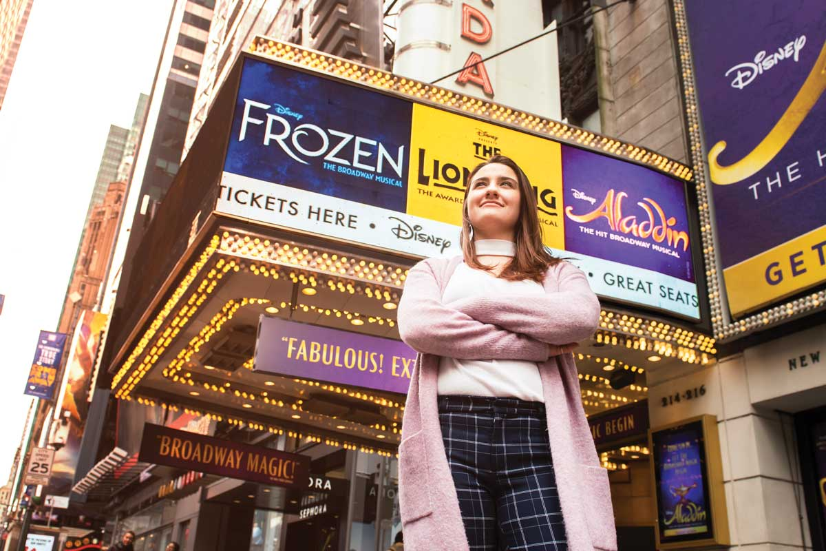 Watson alumna Lauren Kelemen dreamed of working for Disney when she was a little girl. Today, she provides information technology support for Disney's three Broadway productions and live touring shows.