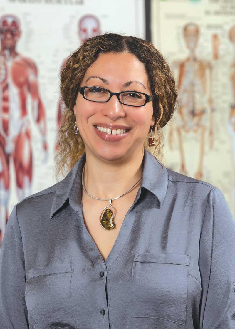 Assisstant professor Elizabeth DiGangi