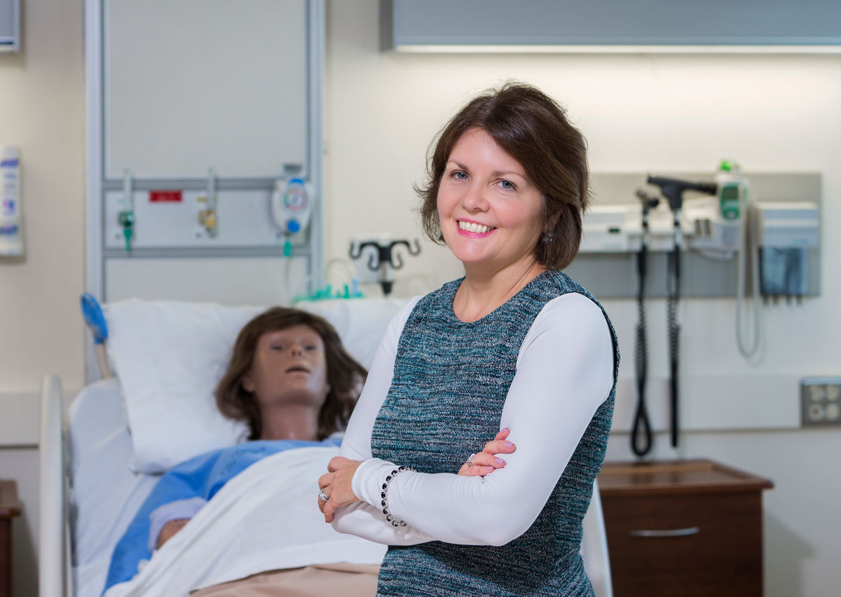 Nina Flanagan is a clinical professor and director of the Adult-Gerontological Nursing Program at Binghamton University's Decker School of Nursing. She has more than 20 years of experience as a geriatric nurse practitioner in a variety of settings.
