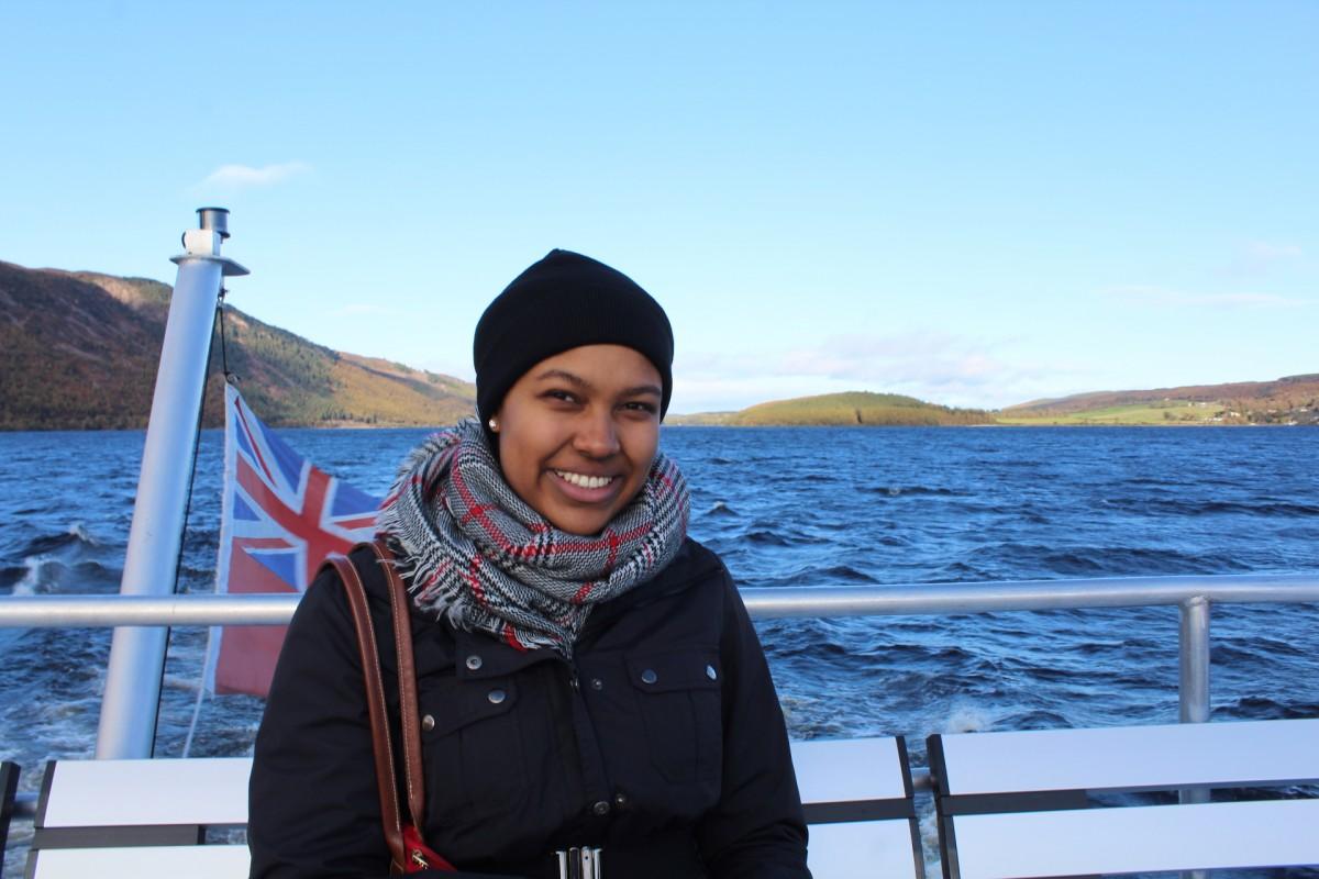 Hannah Zamorは、英国留学経験中です。