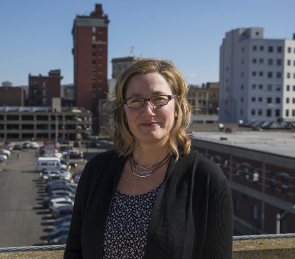 Kelly Huth, director of Binghamton University's Center for Civic Engagement.