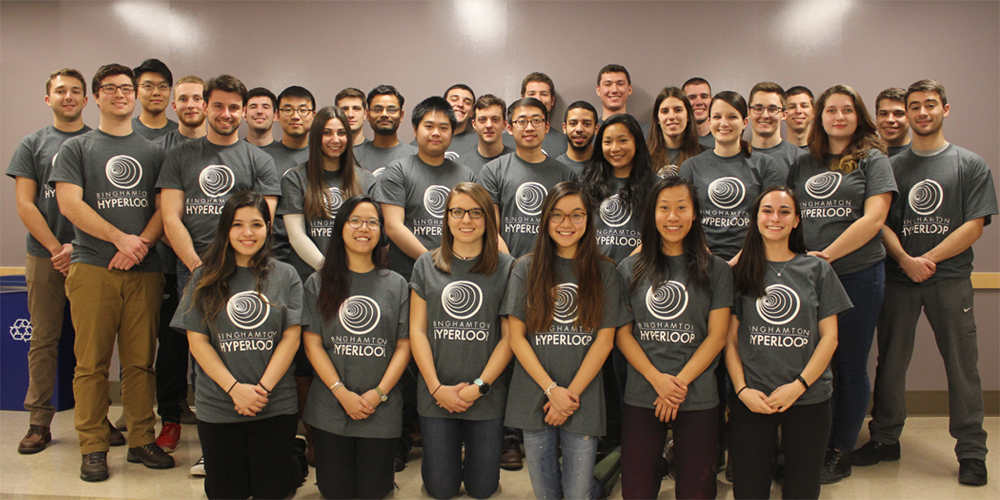 The team that will race its Hyperloop pod at SpaceX in August.