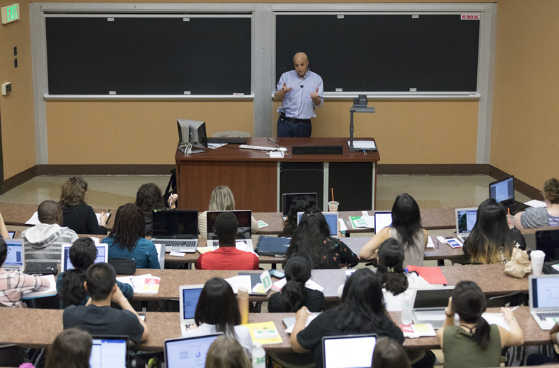 Yetrib Hathout, professor of pharmaceutical sciences, teaches