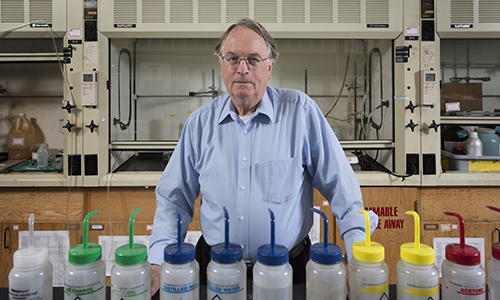 Distinguished Professor of Chemistry and Materials Science M. Stanley Whittingham was recognized with the Nobel Prize in Chemistry for development of lithium-ion batteries, which