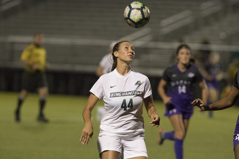 Co-captain Kayla Saager finished 30th in the nation in points last season. Her 11 goals included four game-winners.
