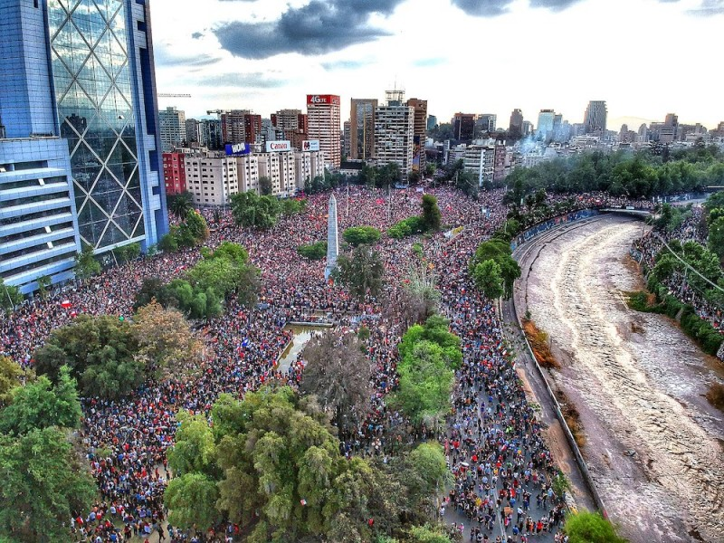 Momentum of Unprecedented Chilean Uprising Stalled by COVID-19 Pandemic