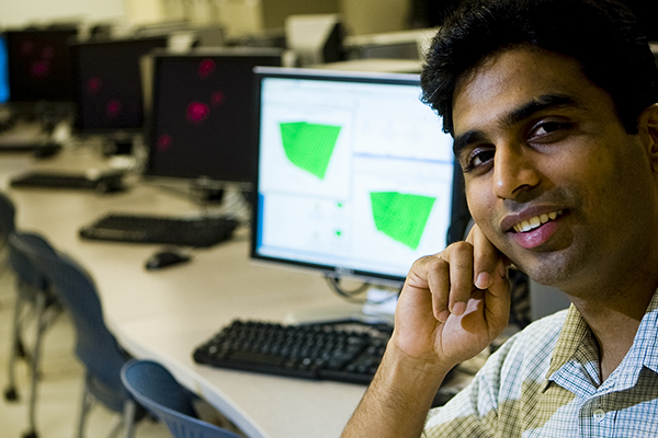 Madhusudhan Govindaraju, seen here in the classroom a few years ago, has been appointed vice provost for international education and global affairs at Binghamton University, effective June 1, 2020.