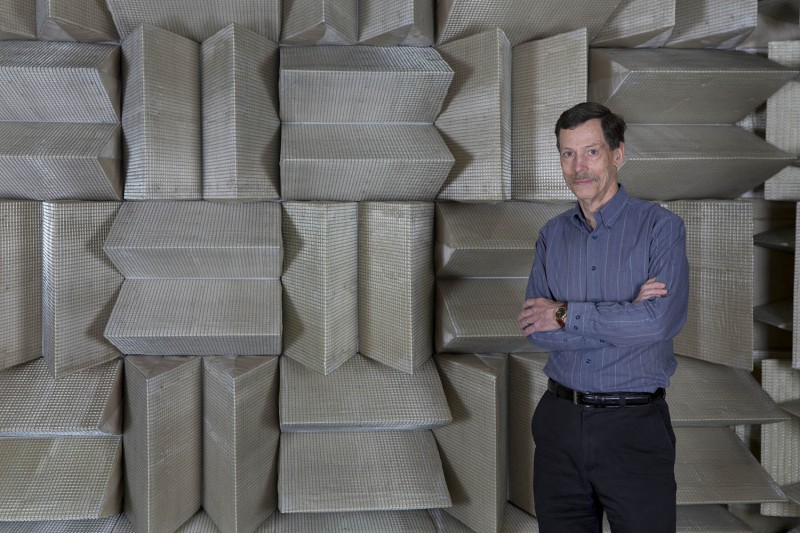 Ron Miles, distinguished professor of mechanical engineering at the Thomas J. Watson School of Engineering and Applied Science, has done extensive research on microphones.
